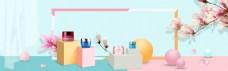 化妆品香水美妆海报模板
