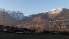 自然大山风景视频