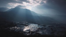 云贵高原风景实拍素材