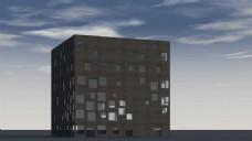 楼房建筑视频素材