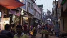 城市街道人物视频