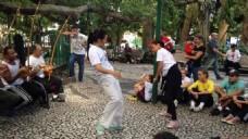 实拍人物舞蹈视频