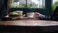 人物喝茶场景视频设计