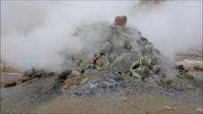 火山视频素材设计