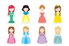 童话故事迪斯尼公主
