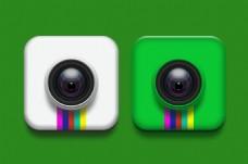 照相机镜头UI图标