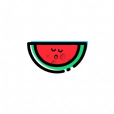 MBE夏日西瓜icon图标PSD源文件