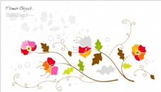 花卉边框设计素材