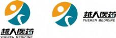 越人医药logo