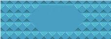 菱形几何banner背景