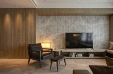 客厅石材背景墙效果图