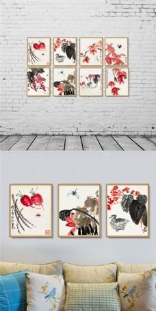 中国风装饰画组合