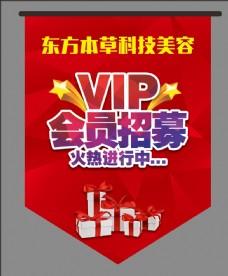 VIP会员招募吊旗
