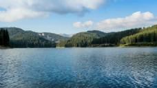 自然风景湖泊视频