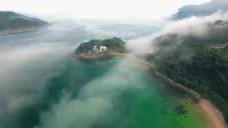 航拍岛屿风景视频