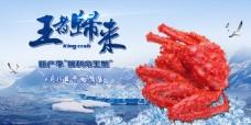 帝王蟹网页banner