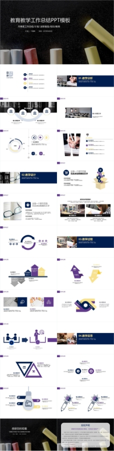 2019教育行业公开课教学设计PPT模板