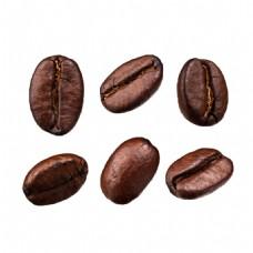 食品坚果咖啡豆元素