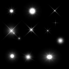 星光效果光效素材光斑素材免扣素材