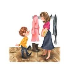 儿童出门服装元素