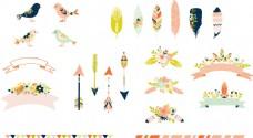 纹理花纹简单卡通矢量图标素材源文件