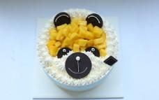 小熊卡通蛋糕
