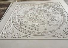 寺庙天花吊顶横梁板模具图