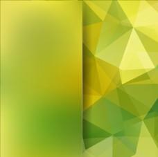 绿色几何背景