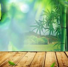 淘宝素材 主图模板 绿色背影