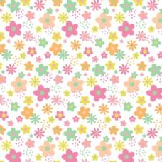儿童卡通花卉 面料花纹