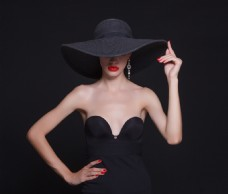 礼服美女模特