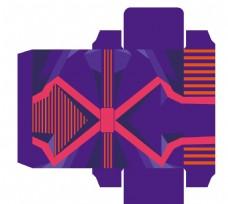 紫色外包装
