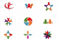 人形状logo