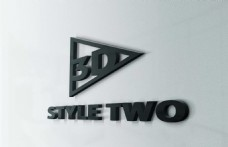 公司形象墙 logo贴图3