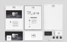 企业VI视觉系统模板设计