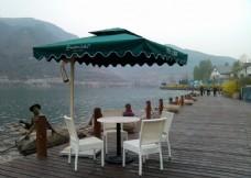 室外休闲桌椅伞