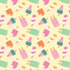 夏日冰淇淋 包装纸