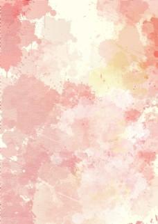 分层水彩背景布纹