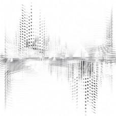 动感圆点图形创意3D立体背景矢量