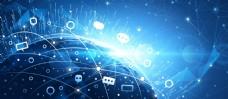 全球互联网科技背景矢量EPS素材