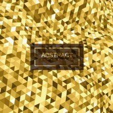 金色几何卷曲时尚彩色光泽的抽象背景