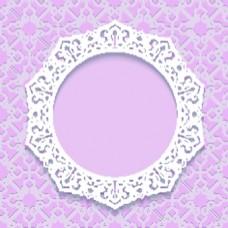 粉色蕾丝背景复古典雅矢量纹理背景