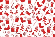红色圣诞礼物矢量素材