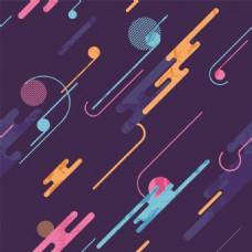 不规则节日背景几何图形卡通点状纹理背景
