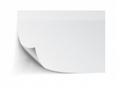 白纸矢量素材