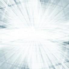 放射光纤几何图形创意3D立体背景矢量