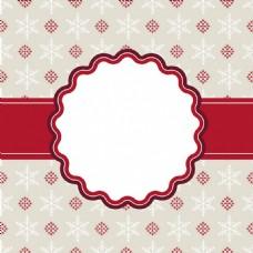 圣诞卡花纹设计