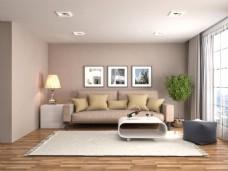 简约室内设计客厅效果图图片