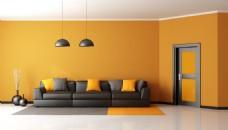 简约欧式客厅家装效果图