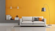 简约室内设计客厅效果图